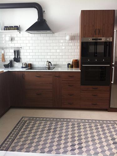 Cocinas baldosa hidraulica suelo hidraulico zelart - Baldosa hidraulica cocina ...